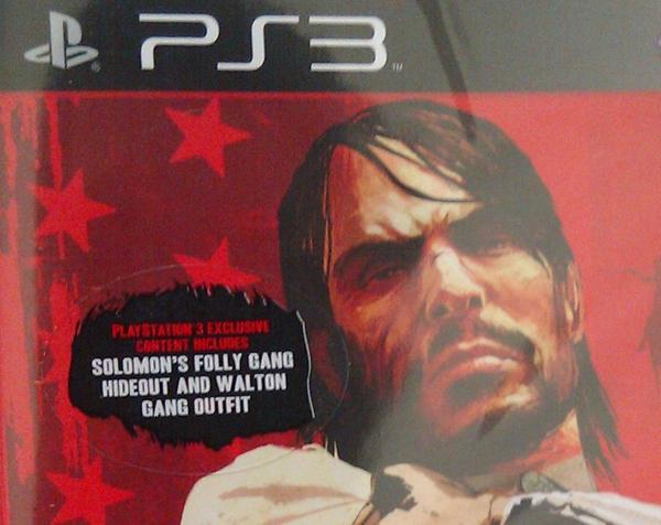 Red Dead Redemption, La versione PS3 conterrà 2 extra esclusivi
