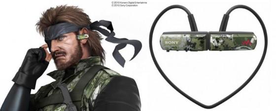 Metal Gear Solid: Peace Walker, Sony crea un lettore MP3 dedicato