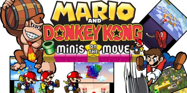 Mario e Donkey Kong: Minis on the Move - recensione - 3DS