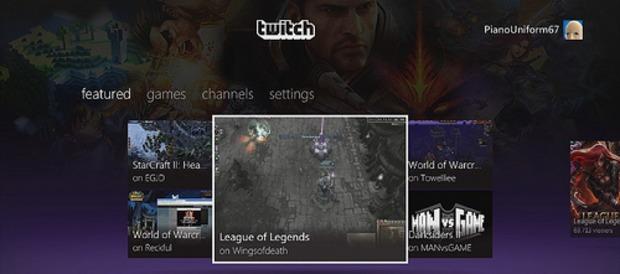 Xbox 360: negli USA arriva l'app di Twitch TV