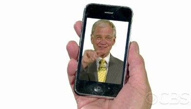 iPhone 4. Lo spot di David Letterman!