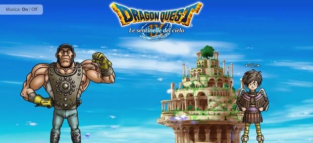 Dragon Quest IX, è tempo di affrontare la sfida sul sito ufficiale