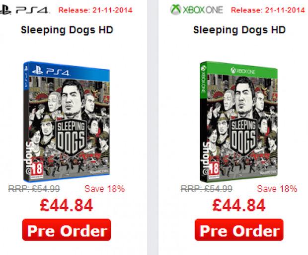 Sleeping Dogs uscirà a novembre su Xbox One e PlayStation 4?