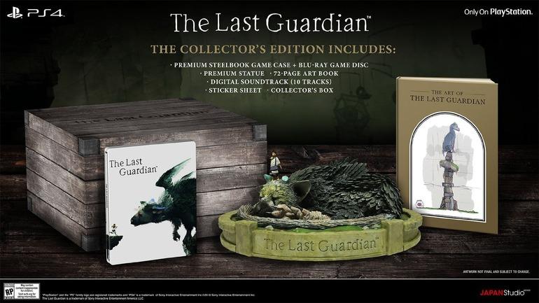 The Last Guardian: Collector's Edition ed immagini del gioco