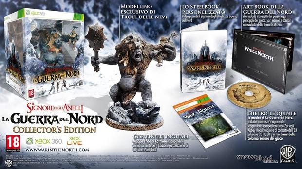 Il Signore degli Anelli: La Guerra del Nord: annunciata la collector's edition europea