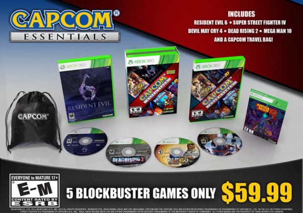 Capcom Essential: confermato il pack con 5 giochi al prezzo di 1