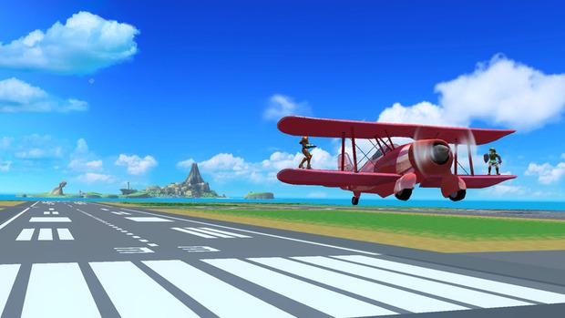 Super Smash Bros Wii U: mostrato lo stage di Pilotwing