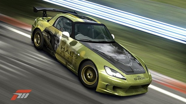 Forza Motorsport 3, una VIP car in onore di Halo: Reach