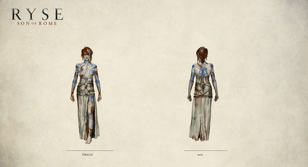 Ryse: Son of Rome - l'Oracolo si mostra in artwork