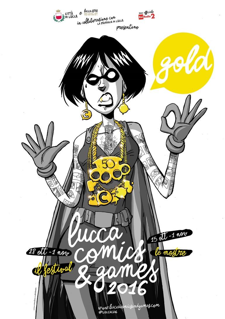 Lucca Comics & Games, tutti i dettagli sull'edizione 2016