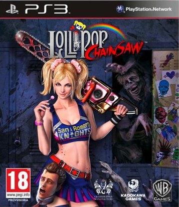 Lollipop Chainsaw: la copertina ufficiale