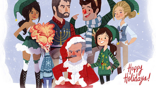 Naughty Dog: cartolina di Natale