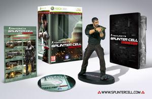 La Collector's Edition di Splinter Cell Conviction sarà esclusiva GameStop