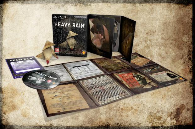 Heavy Rain: Sito ufficiale e immagini della special edition
