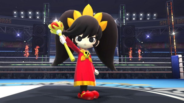 Super Smash Bros: confermata la presenza di Ashley