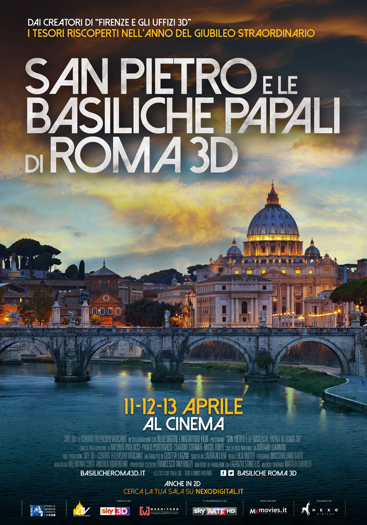 Sky arte porta al cinema le basiliche di roma - Cinema porta di roma prenotazione ...