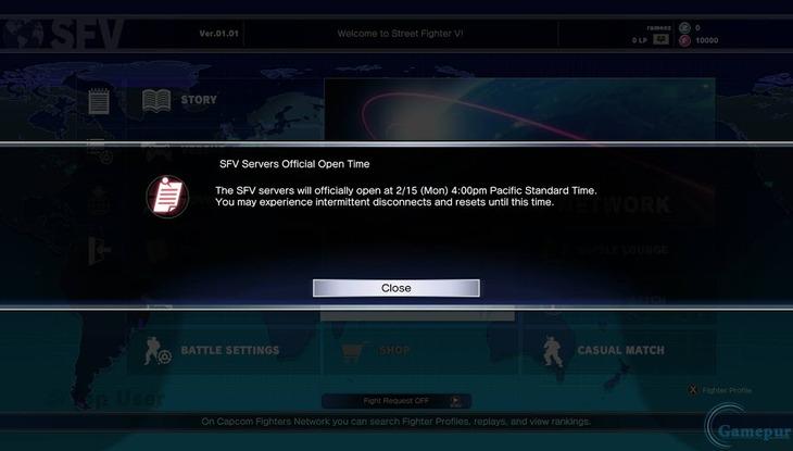 Street Fighter V: preload disponibile su PS4, annunciato l'orario di apertura dei server