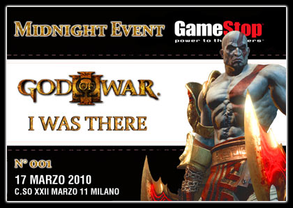 GameStop organizza il Midnight Launch per God of War 3