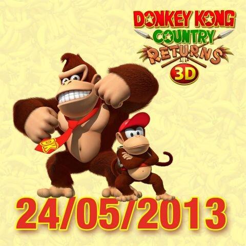 La versione 3DS di Donkey Kong Country Returns 3D in Europa dal 24 maggio
