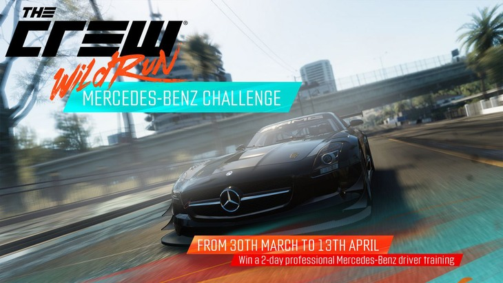 Ubisoft annuncia la sfida Mercedes Benz per The Crew