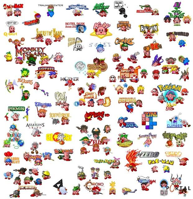 Le 126 facce di Kirby