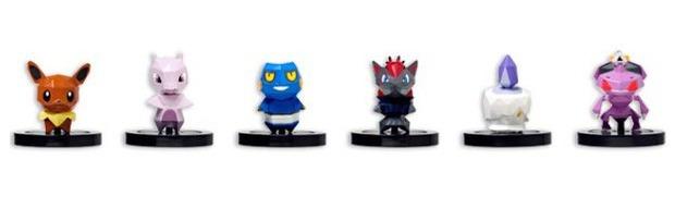 Pokemon Rumble U: rivelato il secondo set di modellini NFC