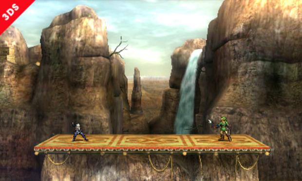 Super Smash Bros: mostrata la Gerudo Valley in versione 3DS