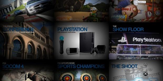 Aperto il sito ufficiale Sony per l'E3 2010
