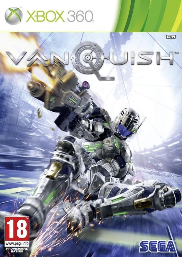 Vanquish, la copertina ufficiale del gioco