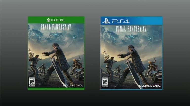 Un minigioco per chi preordina Final Fantasy XV in Nord America, svelata la boxart