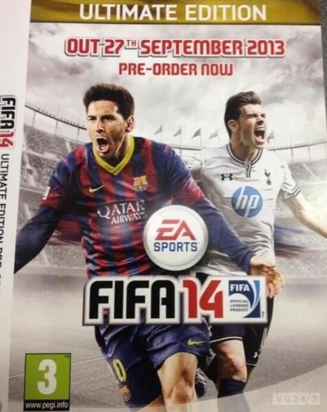 Fifa 14: la cover inglese compare in rete