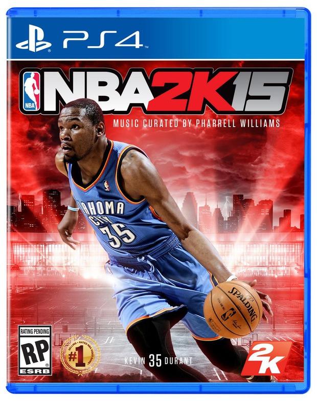 NBA 2K15: ecco la copertina ufficiale, musiche curate da Pharrell Williams