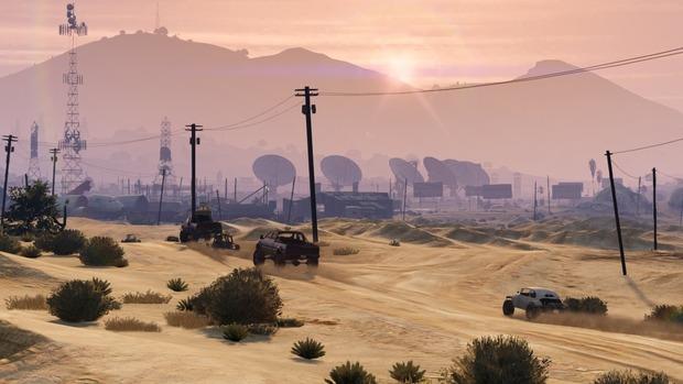 GTA 5: pubblicate nuove immagini per il multiplayer