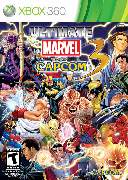 Ultimate Marvel vs Capcom 3 avrà la copertina reversibile
