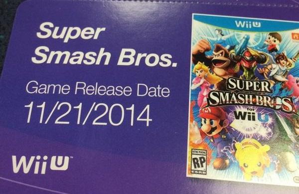 Super Smash Bros per Wii U uscirà il 21 novembre negli Stati Uniti?