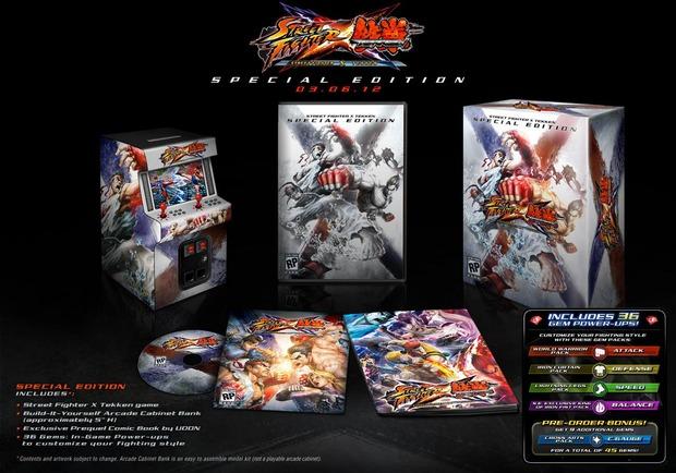 Street Fighter X Tekken: annunciata una special edition per gli USA
