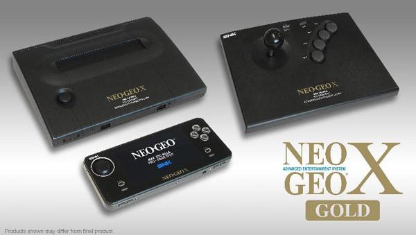 Acquista la console Neo Geo X Gold a 199€