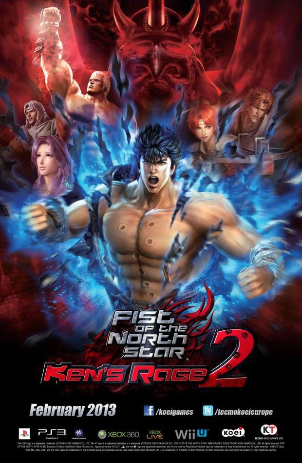Fist of the North Star Ken's Rage 2 previsto a Febbraio 2013