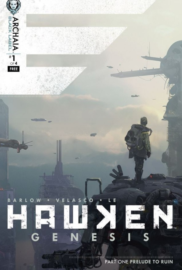 Disponibile la prima anteprima del fumetto di Hawken, che garantisce l'accesso alla Beta