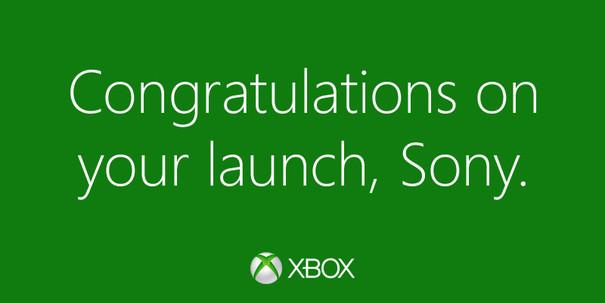 Microsoft si congratula con Sony per il lancio di PS4