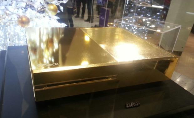 Xbox One: da Harrods ne vendono una completamente d'oro!