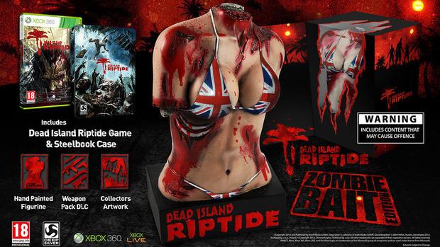 Deep Silver incassa le critiche sulla statua offerta nella 'Zombie Bait' Edition di  Dead Island: Riptide
