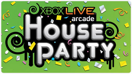 Xbox 360 Live Arcade House Party, le date ufficiali