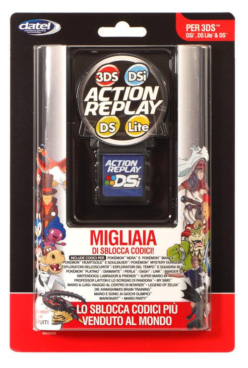 Shardan annuncia il primo Action Replay compatibile con Nintendo 3DS