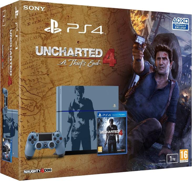 PS4 Uncharted 4 Limited Edition: ecco l'artwork della confezione