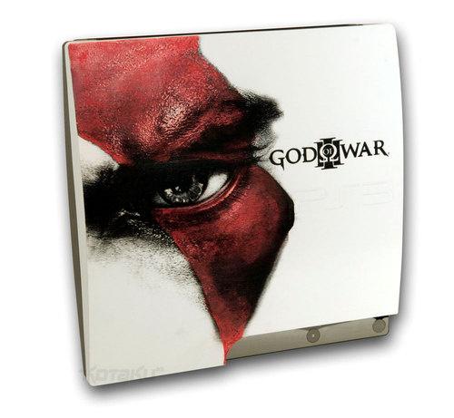 Una PS3 serigrafata God of War 3