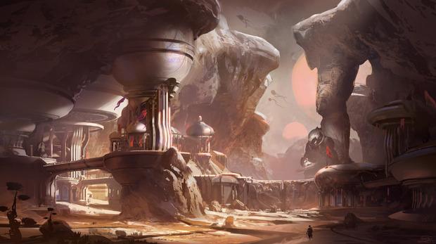 Halo 5: Guardians, pubblicata la prima concept art