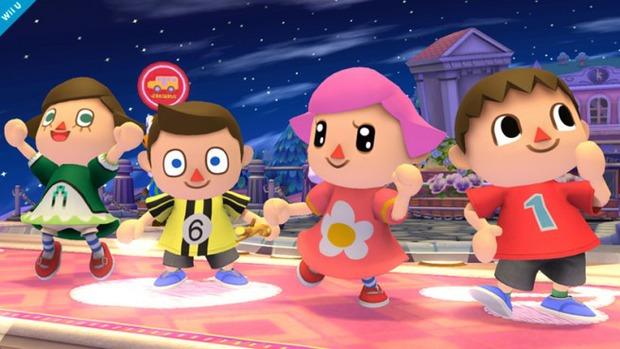 Super Smash Bros: nuova immagine per il Villager di Animal Crossing