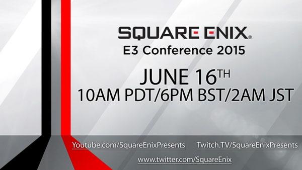 Square-Enix posticipa di un'ora la conferenza E3