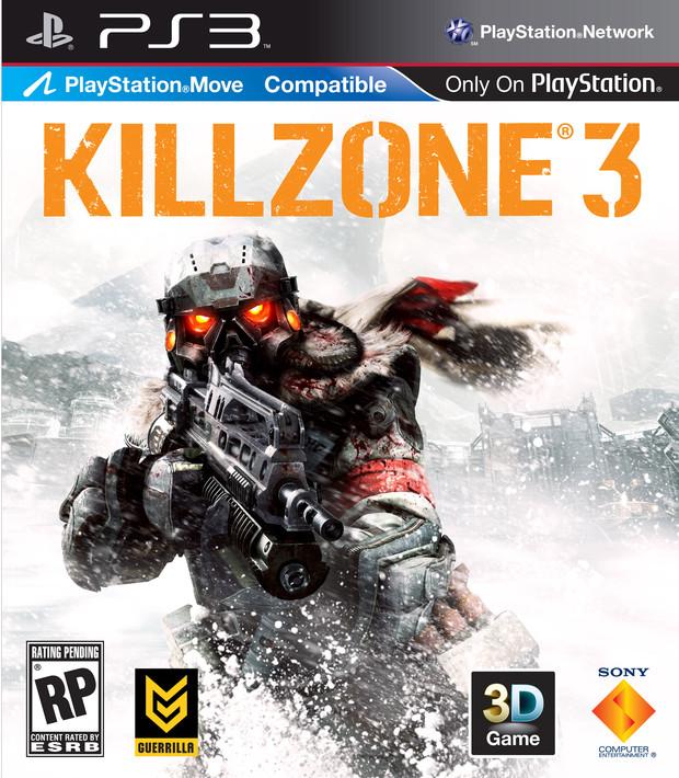 Presentata la cover di KillZone 3 con tanto di loghi 'Move' e '3D Compatible'